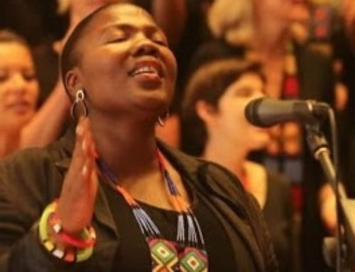 Tandiswa Mrali: The lady with the golden voice singing…..